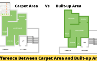 What is the difference between Carpet Area and Built-Up Area?